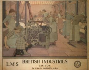 Vintage English poster -  British Industries  (1924)
